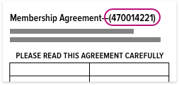 Blank Membership Agreement
